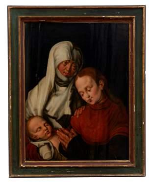 Duerer, Albrecht - Kopie des fr. 17. Jh.: Heilige Anna