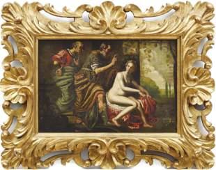 Flaemische Schule des 17. Jahrhunderts, Susanna und die