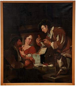 Toorenvliet, Jacob - Kreis des: Apotheker mit