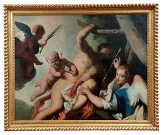 Das Martyrium des heiligen Sebastian, Venezianische