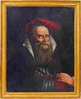 Raggi, Giovanni: Bildnis eines alten Orientalen mit