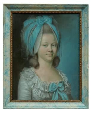 Monmerque, Jean-Baptiste-Charles: Bildnis einer Dame