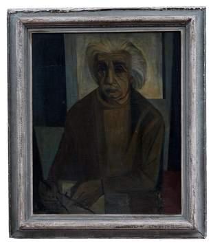 Portrait von Albert Einstein, 20. Jh.