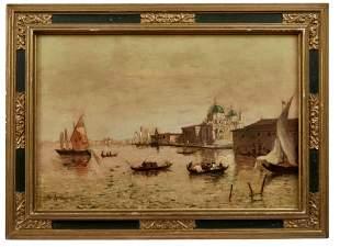 Ranieri, Marco: Blick auf den Canal Grande in Venedig