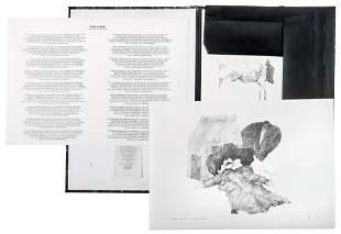 Flora, Paul: Mappe ''Die Raben''
