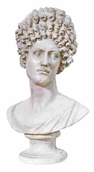 """Bust Fonseca"": Rome, 19th century"