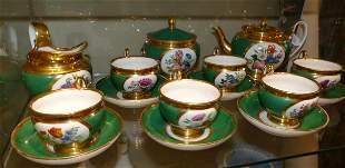 Teeservice fuer sechs Personen, Frankreich, um 1820/30