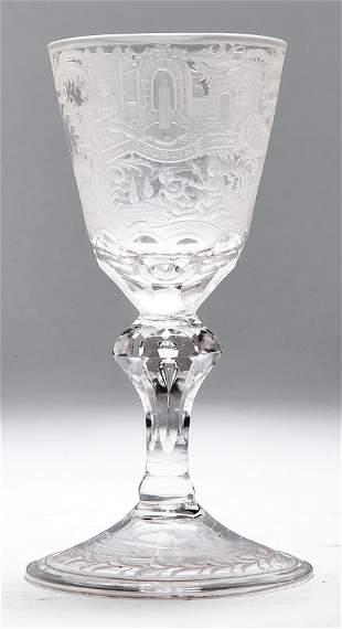 Kleiner Pokal mit den Vier Jahreszeiten, Schlesien,