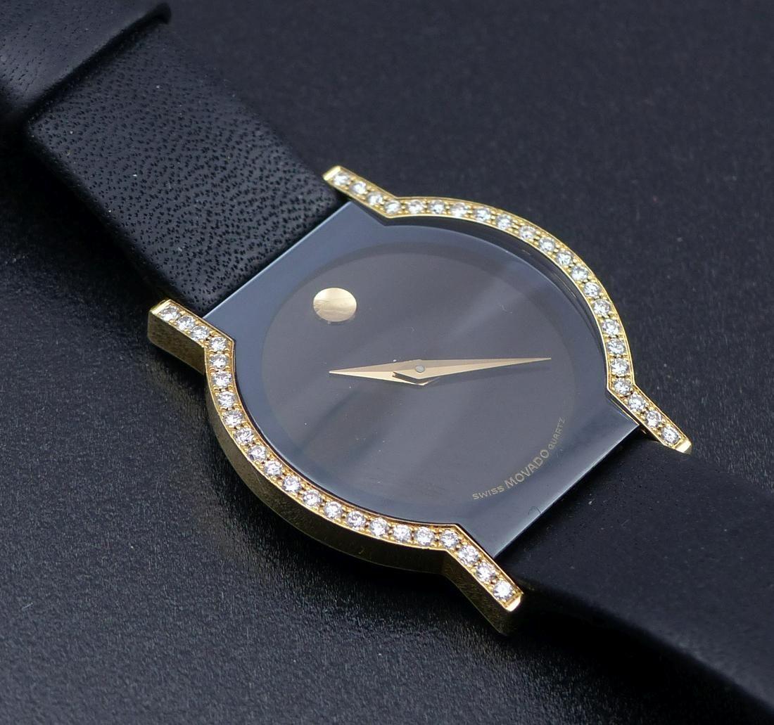 Movado-Damenarmbanduhr, Modell ''Museum''