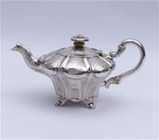 Kleine Teekanne, Bern, Werkstatt Rehfuss - um 1850
