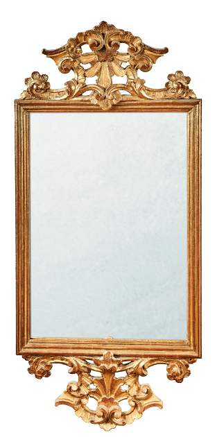 Spiegel im Barockstil, 19. Jh.
