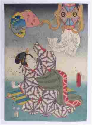 Utagawa Kunisada (Toyokuni III.): Der 7. Monat
