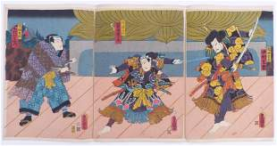 Utagawa Kunisada (Toyokuni III.): Die Schauspieler