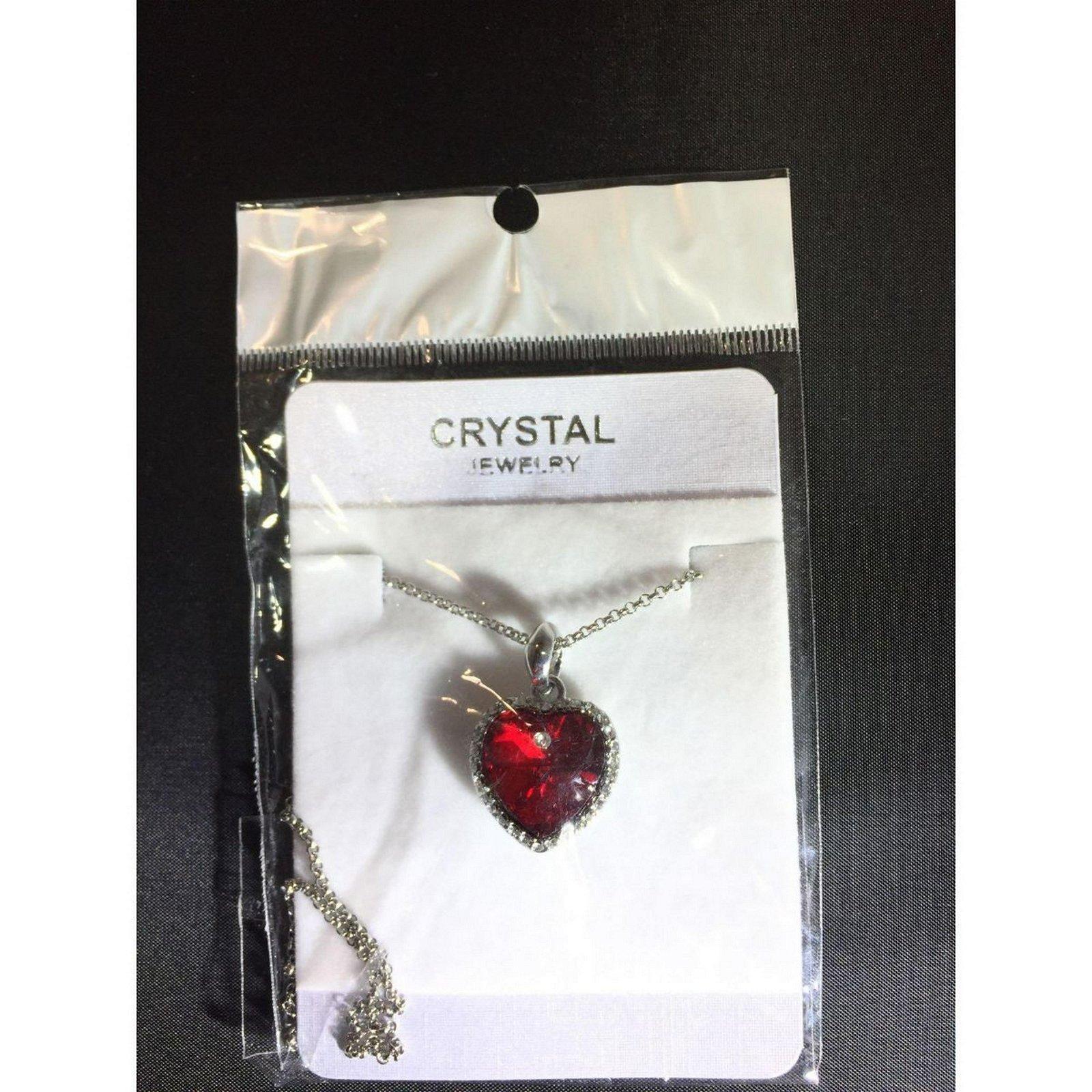Austrian Crystal with Swarovski Elements - Red heart