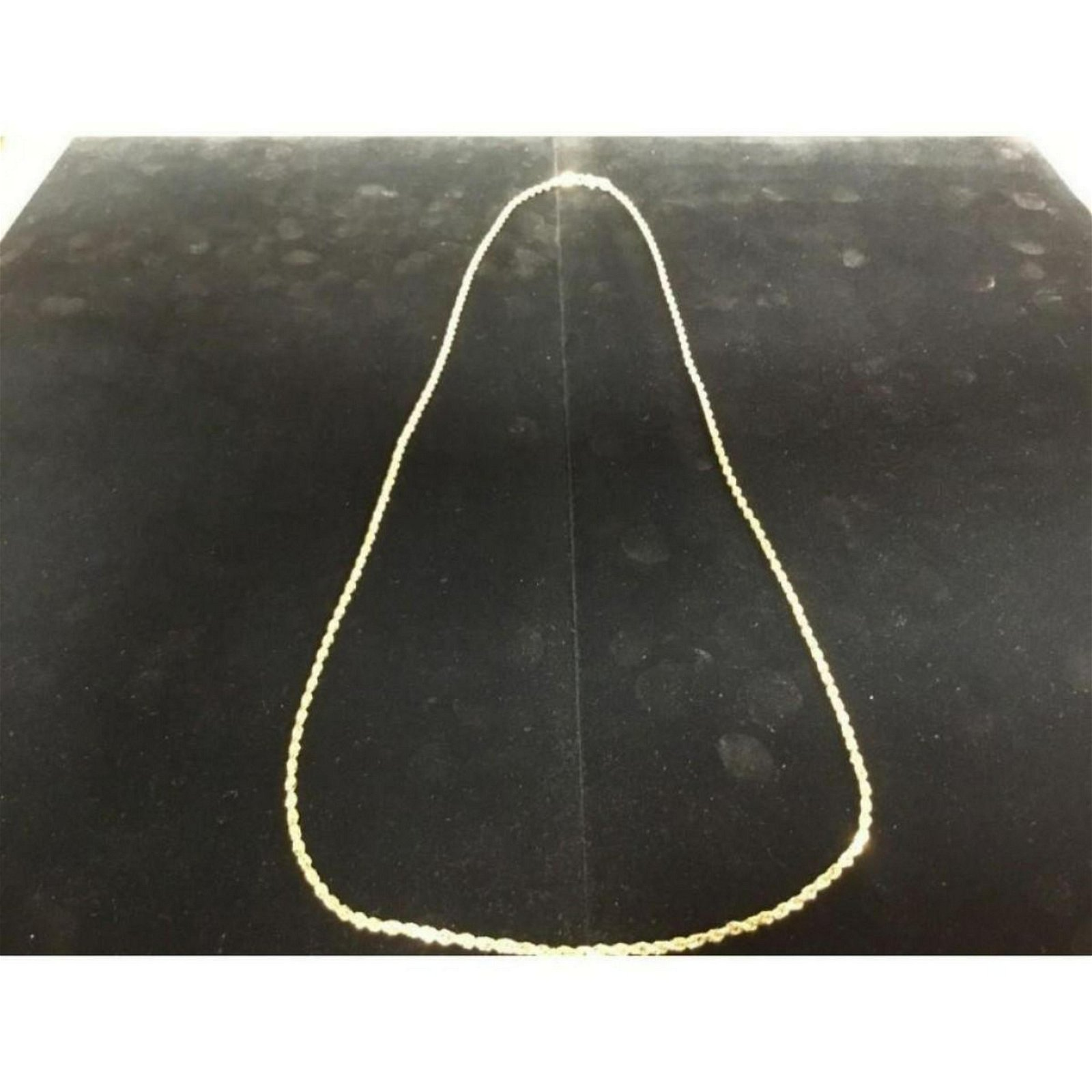 0731e602f254e Solid 10K Yellow Gold Men's Custom Made Rope Chain