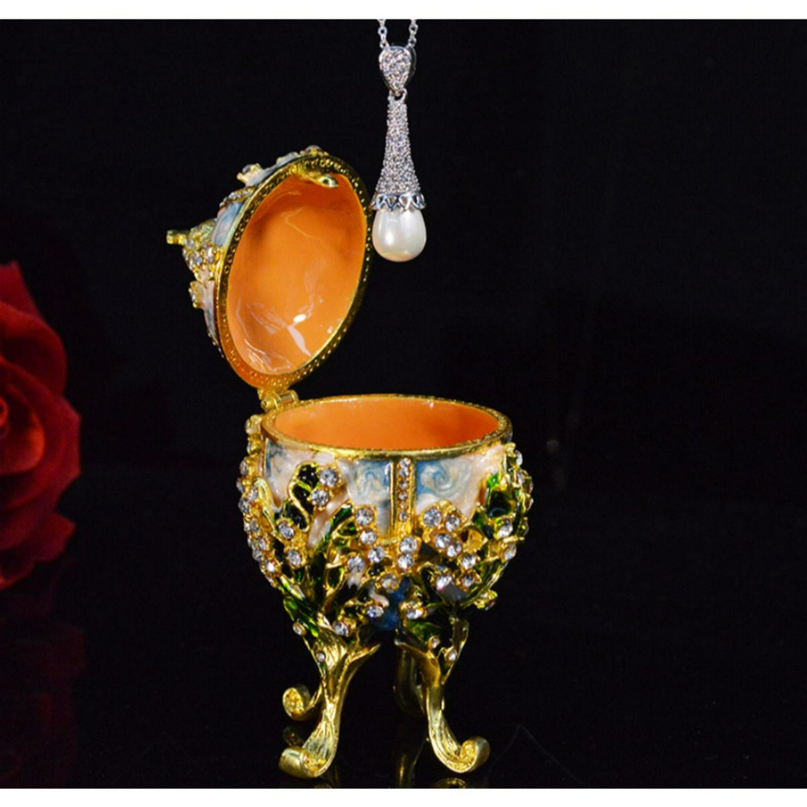 Pearl Metal Religious Mascot Collection Faberge Egg