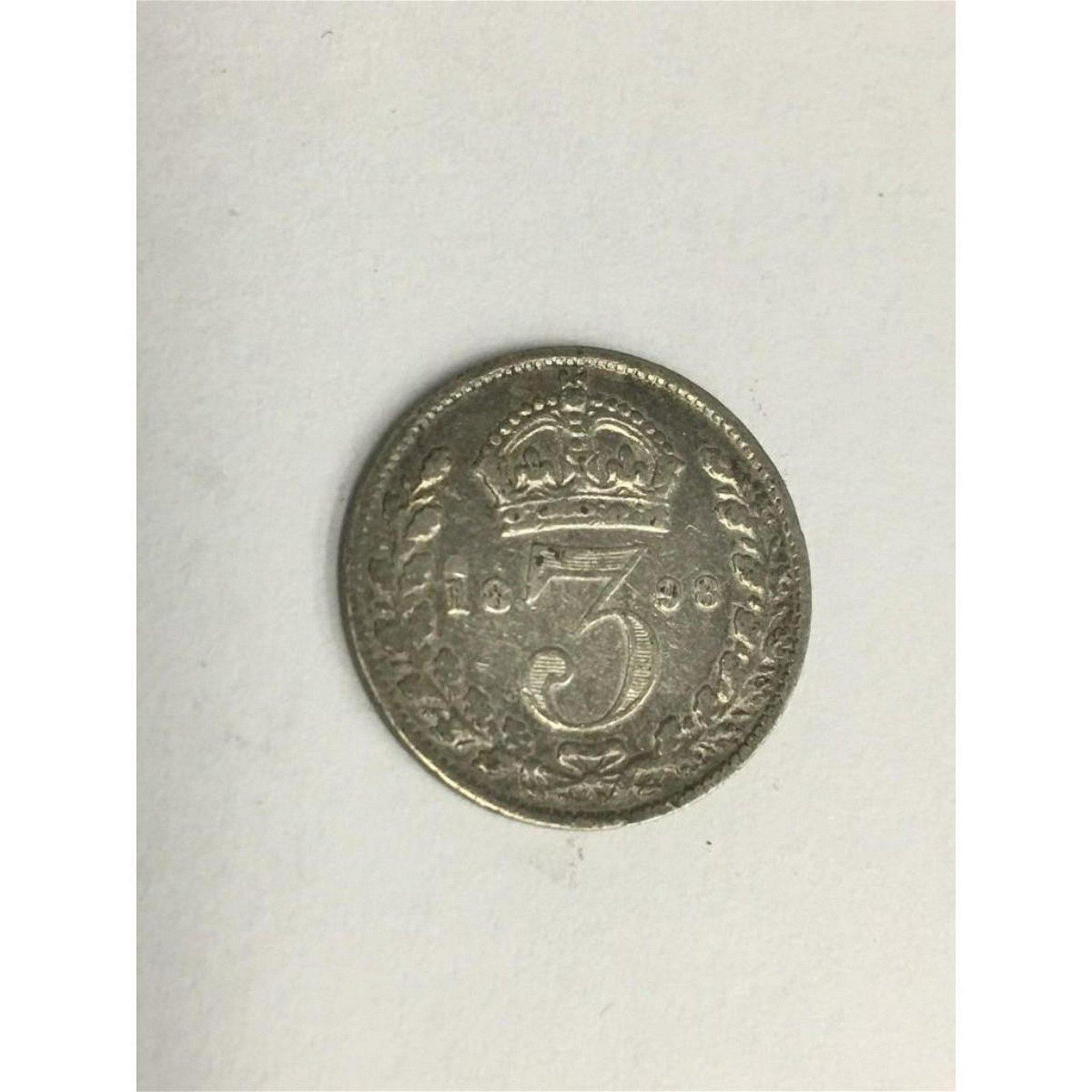 1898 UK Great Britain United Kingdom QUEEN VICTORIA 3