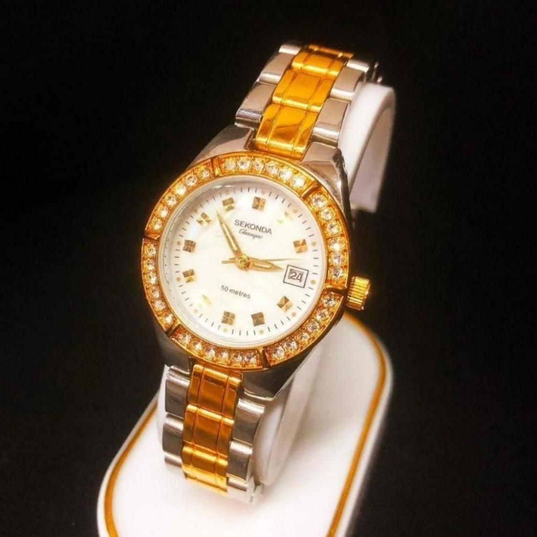 Ladies Gold and Silver Tone Sekonda Classique Wrist