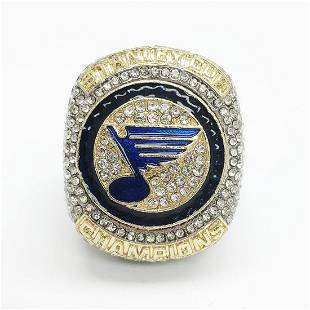 2019 St Louis Blues NHL Stanley Cup Ring Reilly