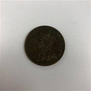 1919 George V Canadian 1 Cent