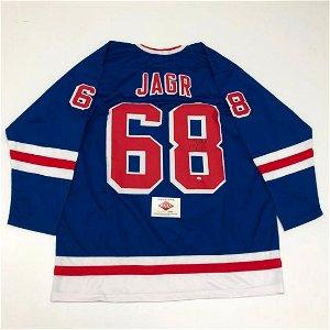 Authentic New York Rangers Jarimor Jagr #68 Autographed