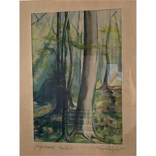 Hugo Ziegler Signed Art