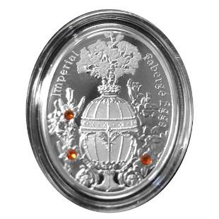 2012 Poland Mint Bouquet of Lilies Imperial Faberge