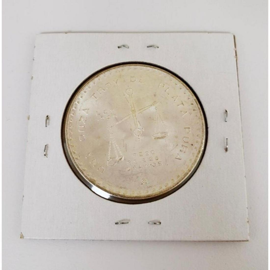 1980 Mexican Silver-100 Pesos