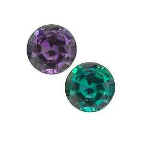 Round Cut Natural Alexandrite - Extra Fine AAA+ Graded