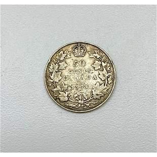 1914 50 Cent - George V