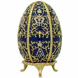 1895 Twelve Monograms Royal Russian Inspired Egg
