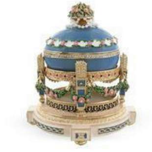 Cradle With Garland 1907 Love Trophies Royal Russian