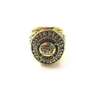 1912 Boston Red Sox World Series Championship Ring