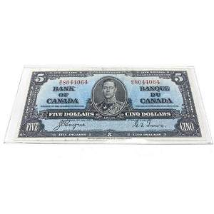 1937 Bank Of Canada $5 Bank Note - D/S 8044064 - Coyne