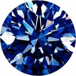 Extra Fine Grade Natural African Royal Blue VVS2-VS1