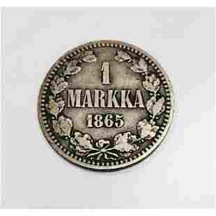 1 Markka - Aleksandr II