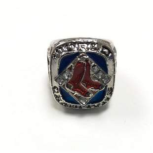 Boston Red Sox World Series Championship Ring