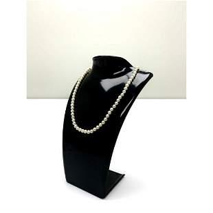Ladies Akoya Choker Stlye Pearl Necklace