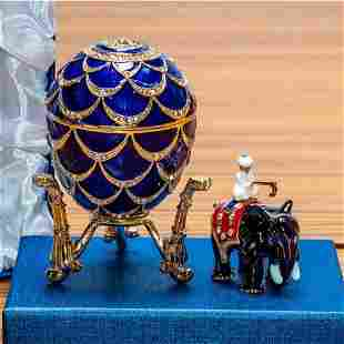 1900 Pine Cone Royal Russian Inspired Egg