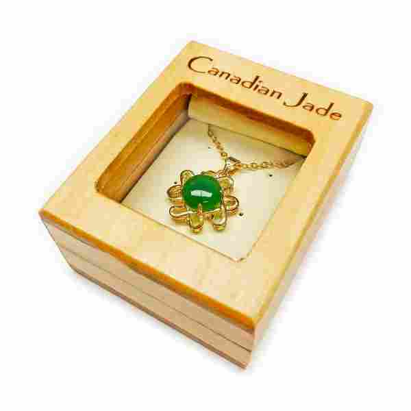 Fine Ladies 1.35ct Round Cut Canadian Jace Necklace in