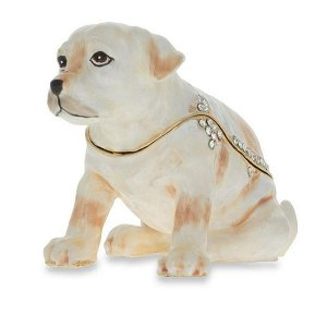Royal Labrador Retriever Jewelry Trinket Box