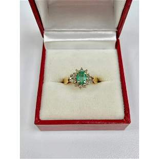 B & G Marked - One of a Kind Ladies Size 7 14k Gold,