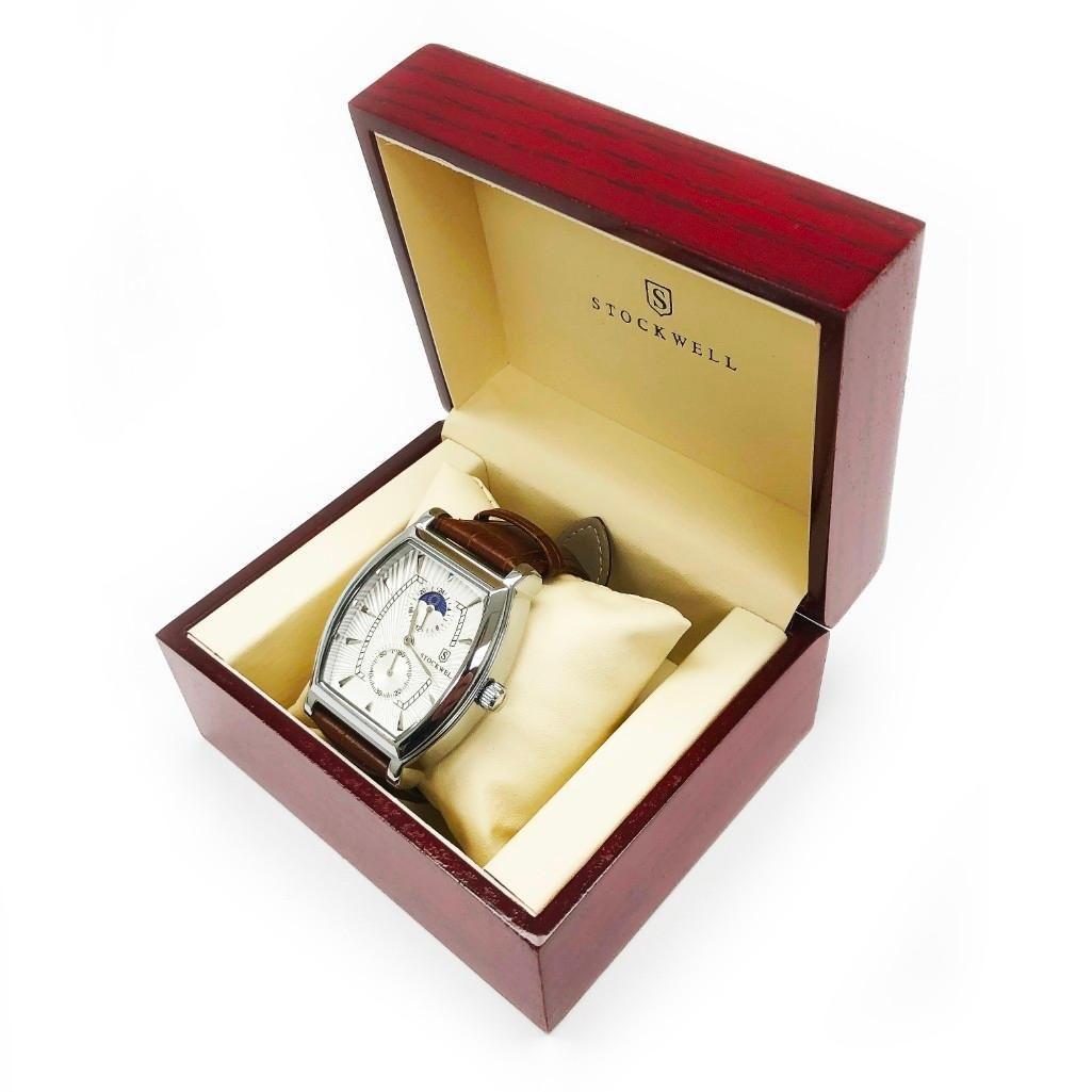 Men's Luxury Stockwell Automatic Watch Featuring MOON