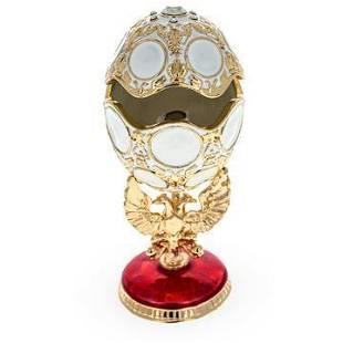 1913 Romanov Tercentenary Inspired Royal Russian Egg