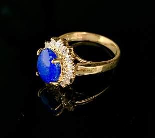 Beautiful 1.79ct Oval Cut Blue Lapis Lazuli Gemstone