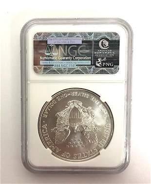 1997 American Eagle .999 Silver Dollar