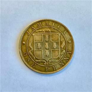 1909 Edward VII - Jamaica One Penny