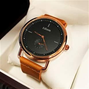 Mens L.A. Banus Royal Rose Chronograph Genuine Leather