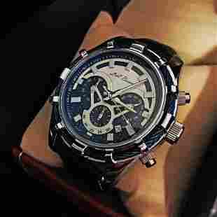 Mens L.A. Banus Royal Blue Grey Steel Dial Chronograph