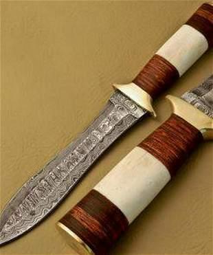 The Liars Damascus Dagger